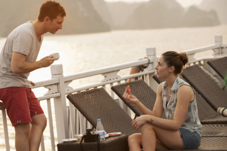 activities on Halong bay cruise